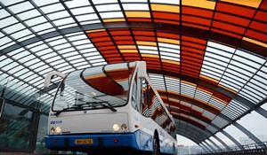Busstation IJsei Amsterdam