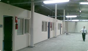 Gebouwen Asielzoekerscentrum (AZC) Ter Apel
