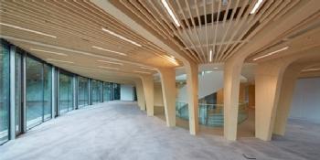 Oplevering nieuwe hoofdkantoor Triodos Bank Driebergen