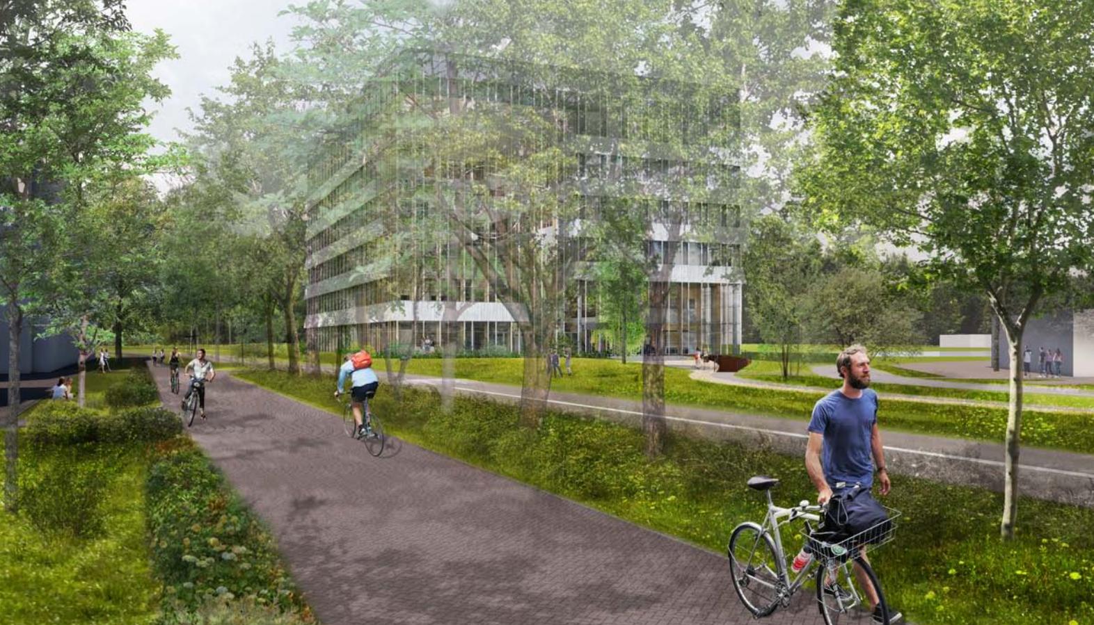 Derde Onderwijsgebouw Wageningen University
