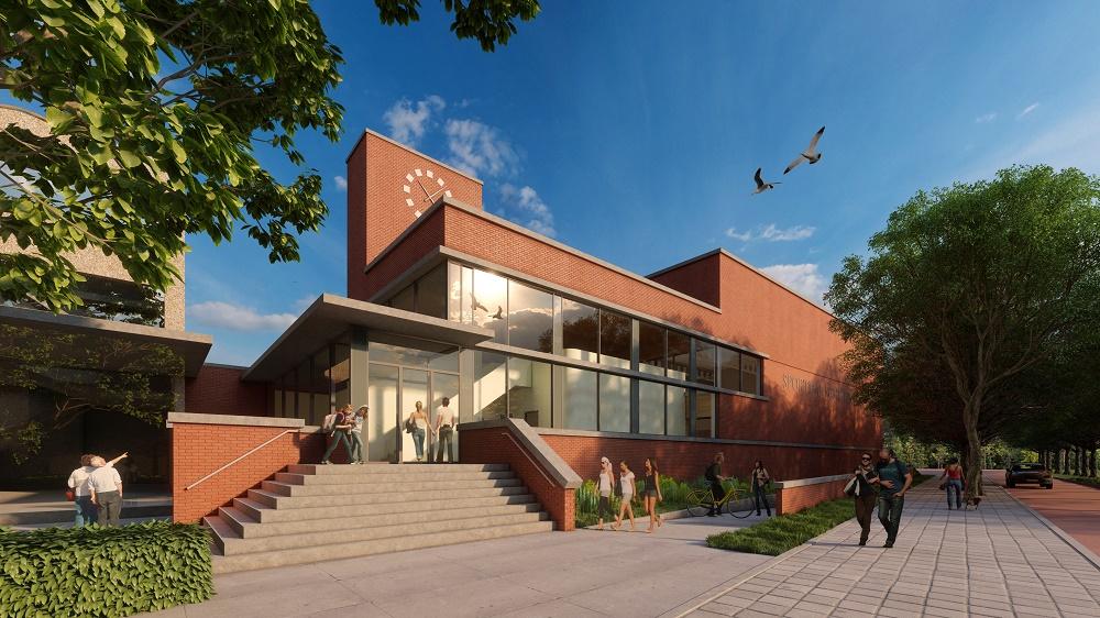 Nieuwbouw sporthal Schoter, Haarlem