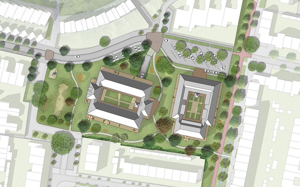 Woningbouwplan Wegwijzer/Den Oord, Houten